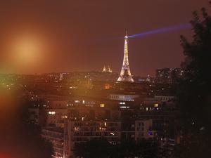 Bokeh Eiffel by Sebastien Lory