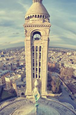 Church, Tower, Paris, France by Sebastien Lory