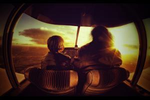 Flying by Sebastien Lory