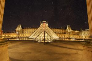 Louvre Pyramid, Paris, France by Sebastien Lory