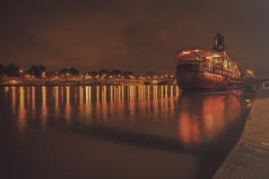 Paris Lost Boat by Sebastien Lory