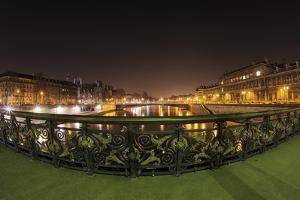Paris Night Bridge I by Sebastien Lory