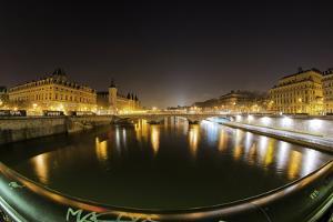 Paris Night Brige II by Sebastien Lory
