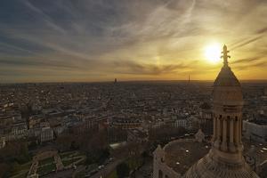 Sacré Coeur, Church, Paris, France by Sebastien Lory