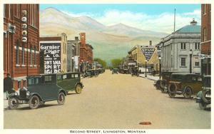 Second Street, Livingston, Montana