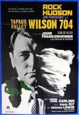 Seconds, (aka Wilson 704), Finnish Poster, Rock Hudson, 1966