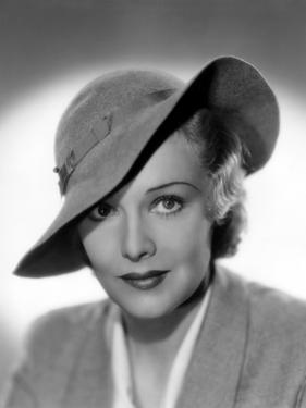 SECRET AGENT, 1936 directed by ALFRED HITCHCOCK Madeleine Carroll (b/w photo)