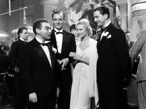 SECRET AGENT, 1936 directed by ALFRED HITCHCOCK Peter Lorre, Robert Young, Madeleine Carroll and Jo