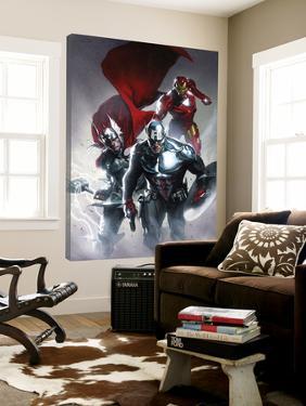 Secret Invasion No.6 Cover: Captain America, Thor and Iron Man