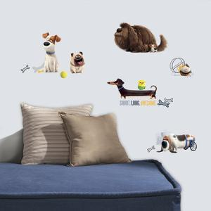 Secret Life of Pets Boys Peel and Stick Wall Decals