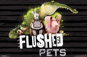Secret Life Of Pets- Flushed Pets