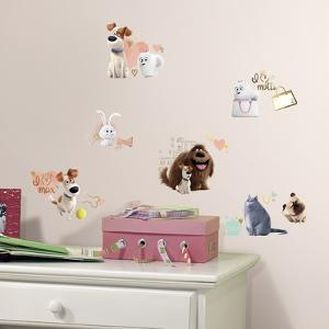 Secret Life of Pets Girls Peel and Stick Wall Decals