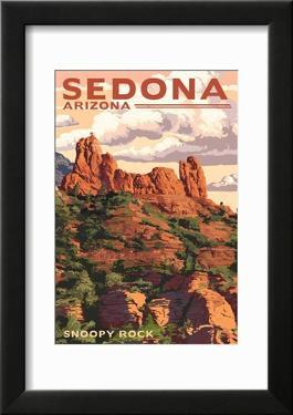 Sedona  Arizona - Snoopy Rock
