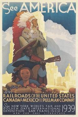 See American Travel Poster