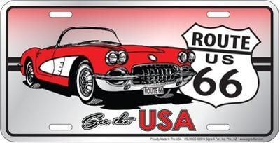 See The Usa Corvette