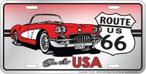 See The Usa Corvette