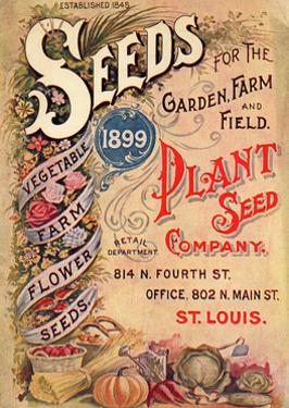 Seed Catalog Captions (2012): Plant Seed Company, St. Louis, Missouri