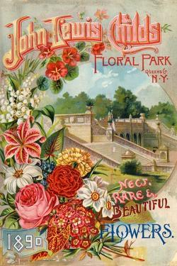 Seed Catalogues: John Lewis Childs: New, Rare and Beautiful Flowers. Floral Park, NY, 1890