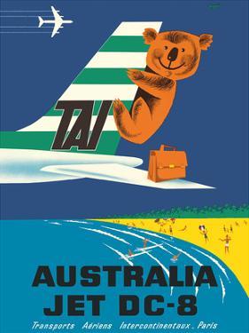 Australia - TAI (Transports Aérien Internationaux) - Douglas Jet DC-8 - Koala Bear by Seguin