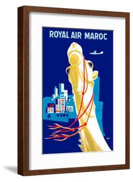 Royal Air Morocco (Maroc) Airlines by Seguin