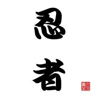 Japanese Calligraphy Ninja by seiksoon