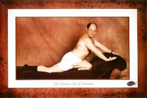 Seinfeld George The Timeless Art of Seduction TV Poster Print