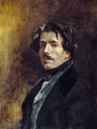 Self-Portrait by Eugene Delacroix