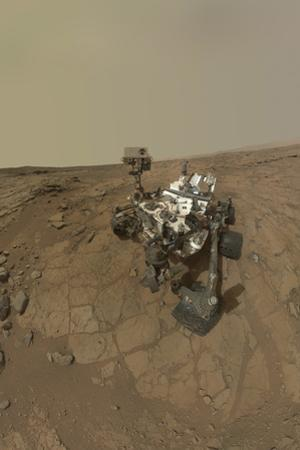 Self-Portrait of Curiosity Rover on the Surface of Mars