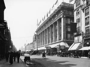 Selfridge's, Oxford Street, London, C1913