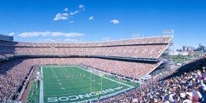 Sell-Out Crowd at Mile High Stadium, Broncos V. Rams, Denver, Colorado