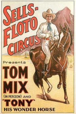 Sells-Floto Circus Poster