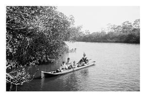 Seminole Indians, Everglades, Florida