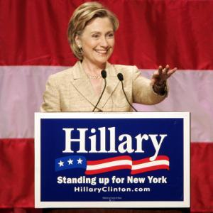 Sen. Hillary Clinton Addresses Supporters at the New York Women for Hillary Luncheon