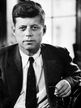 Sen. John F. Kennedy Posing for Picture