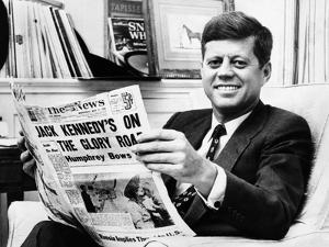 Sen John Kennedy Becomes the Front-Runner for the 1960 Democratic Presidential Nomination