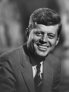 Senator John F. Kennedy Close-Up During Campaign