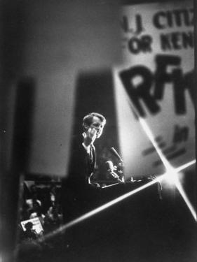 Senator Robert F. Kennedy Campaigning in Camden