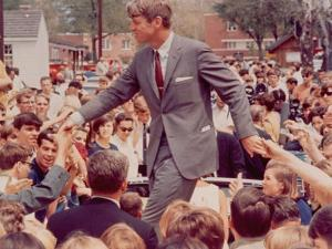 Senator Robert F. Kennedy Campaigning in Indiana Presidential Primary