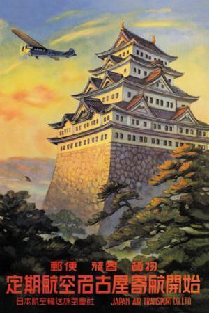 Japan Air Transport, Nagoya Castle