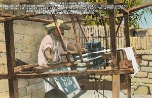 Serape Weaver, Texcoco, Mexico