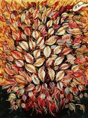 Leaves by Seraphine (de Senlis) Louis