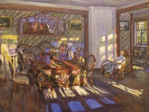 Sunlight Through Coloured Glass Windows, 1916 by Sergei Arsenyevich Vinogradov