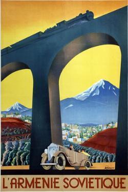 Soviet Armenia, 1935 by Sergei Dmitrievich Igumnov