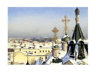 View from the Window of the Moscow School of Painting, Sculpture and Architecture