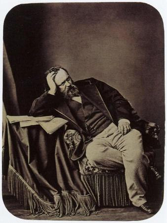 Alexander Herzen, Russian Writer and Thinker, 1861