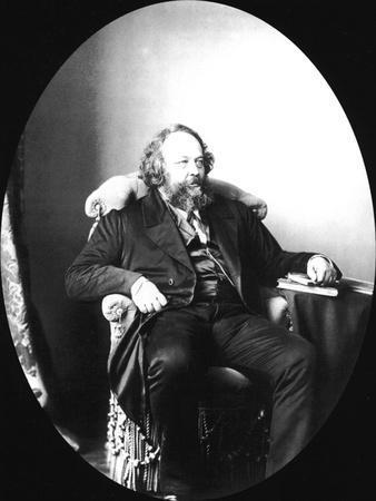 Mikhail Bakunin, Russian Revolutionary and Theorist of Anarchism, 1863