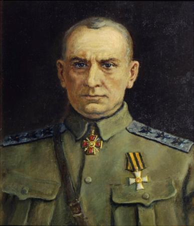 Portrait of Alexander Kolchak, C1918-C1920 by Sergei Pen