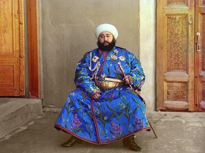 Mohammed Alim Khan, the Last Emir of Bukhara, 1911