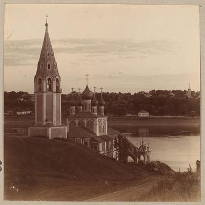 The Kazan-Preobrazhenskiy Church in Romanov-Borisoglebsk, 1910