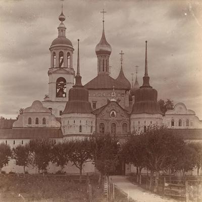 The Tolga Convent in Yaroslavl, 1910
